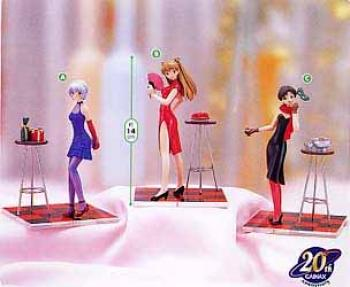 Evangelion PVC Figure - Party time collection Rei