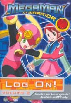 Megaman NT warrior vol 02 Log on DVD
