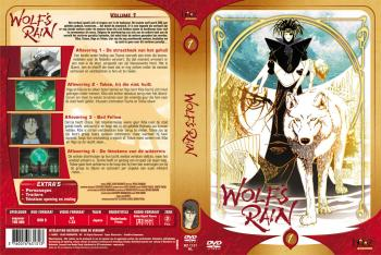 Wolf's rain vol 01 DVD NL/FR