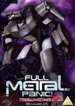 Full metal panic vol 05 DVD PAL UK