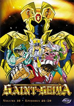 Saint Seiya vol 10 Fallen friends DVD