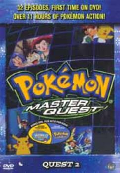 Pokemon Master quest collection box Quest 2 DVD