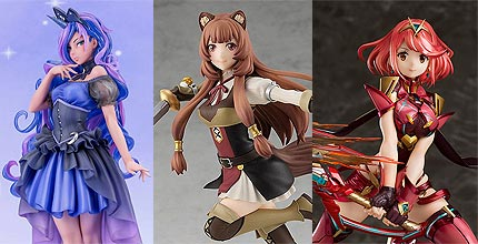 New PVC Figures for Preorder